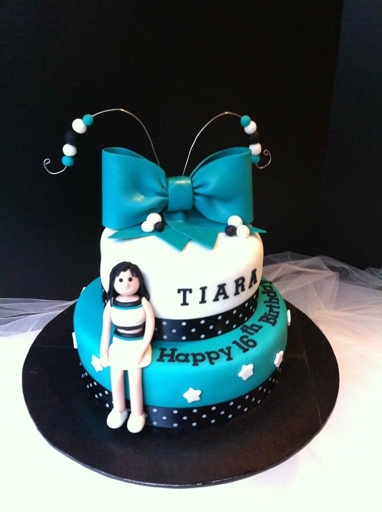 Cheerleader Birthday Cake Cakebyira Flickr