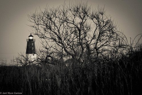 Point Judith in Black and White | by Jerri Moon Cantone