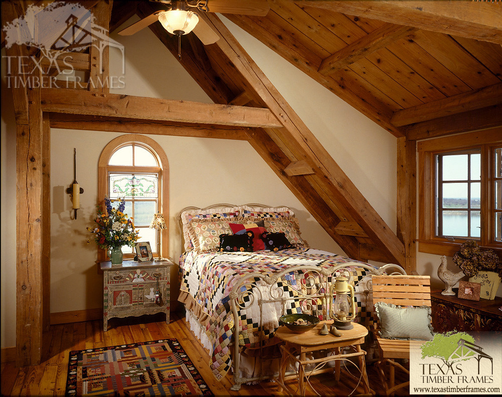 Timber Bedroom - Texas Timber Frames | Texas Timber Frames | Flickr