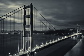 San Francisco Bridge Sunrise | by Karen Kaner Photography
