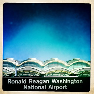 National airport view from Metro platform | by JamesCalder