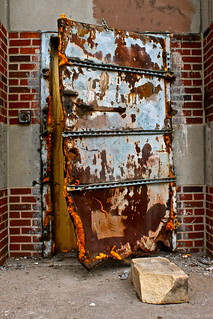 Asbestos Door. | by Urban Camper.