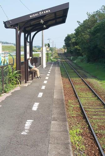 Nishi-Oyama  Southernmost station on the JR network - serve…  Flickr