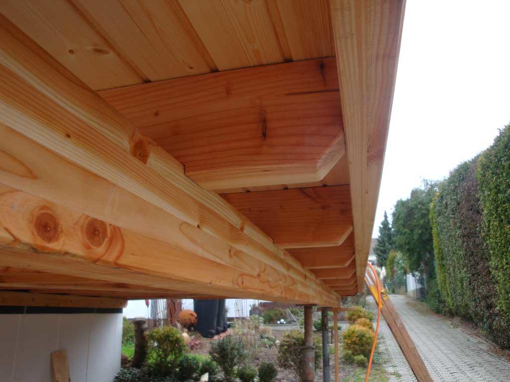 Carport Douglasie flachdach carport untersicht erstellt aus douglasie flickr