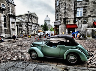 Classic Car in Old Montreal | by ` Toshio '