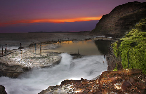 Bogey Hole Pool Sunset || NEWCASTLE  || | by rhyspope