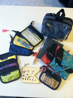 Knitting tool bag | by mom2rays