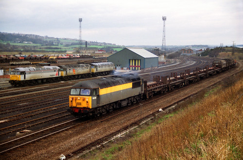 Class 56 56046 at Healey Mills | by Terry's Railways