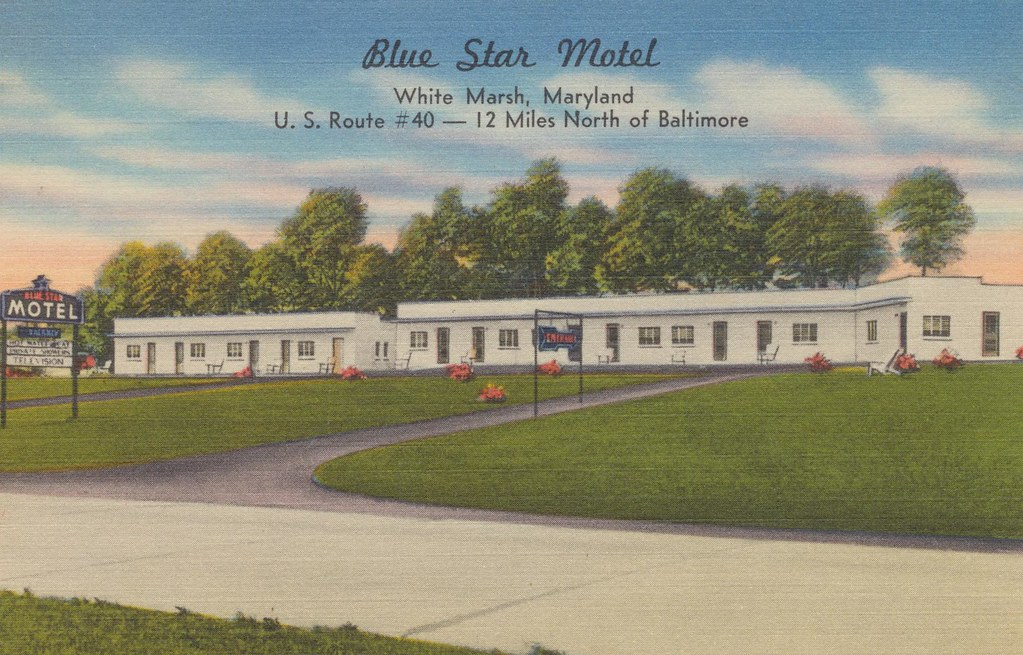 Blue Star Motel - White Marsh, Maryland