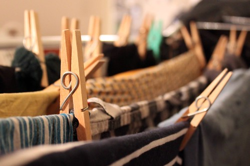 Feb 8/12 H is for Hanging up the laundry | by Jude Doyland