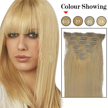20 inch 7pcs lightest blonde 613 remy clip in hair extens flickr 20 inch 7pcs lightest blonde 613 remy clip in hair extensions by loveinhair pmusecretfo Image collections