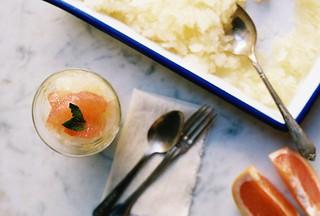 Honeyed Grapefruit Granita | by yossy arefi