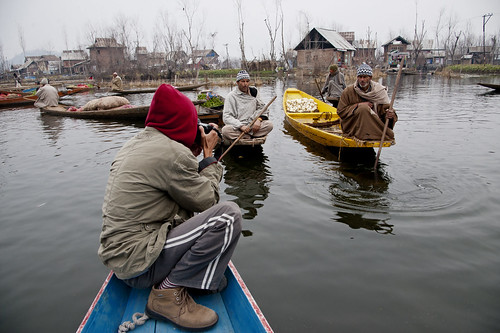 Kashmir 2012 | Dale Lake Srinagar | Vegetable Floating Market | by wazari