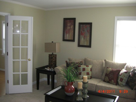 CertaPro Painters Residential Painting Job Staged for Sale