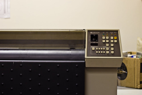 HP 7580B Plotter | by bert_m_b
