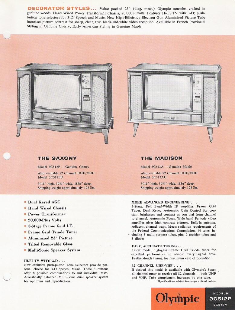 OLYMPIC Radio and Television Dealer Portfolio (USA 1963)_3