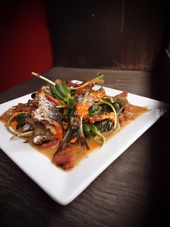 Grilled Fresh Sardines with Chili-Peanut Sauce | by KAC NYC