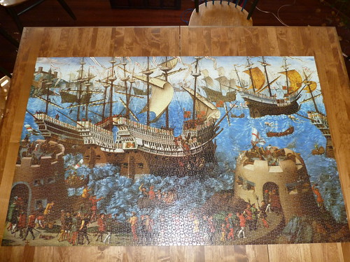 5000 piece puzzle the embarkation of henry viii at dover for Custom 5000 piece puzzle