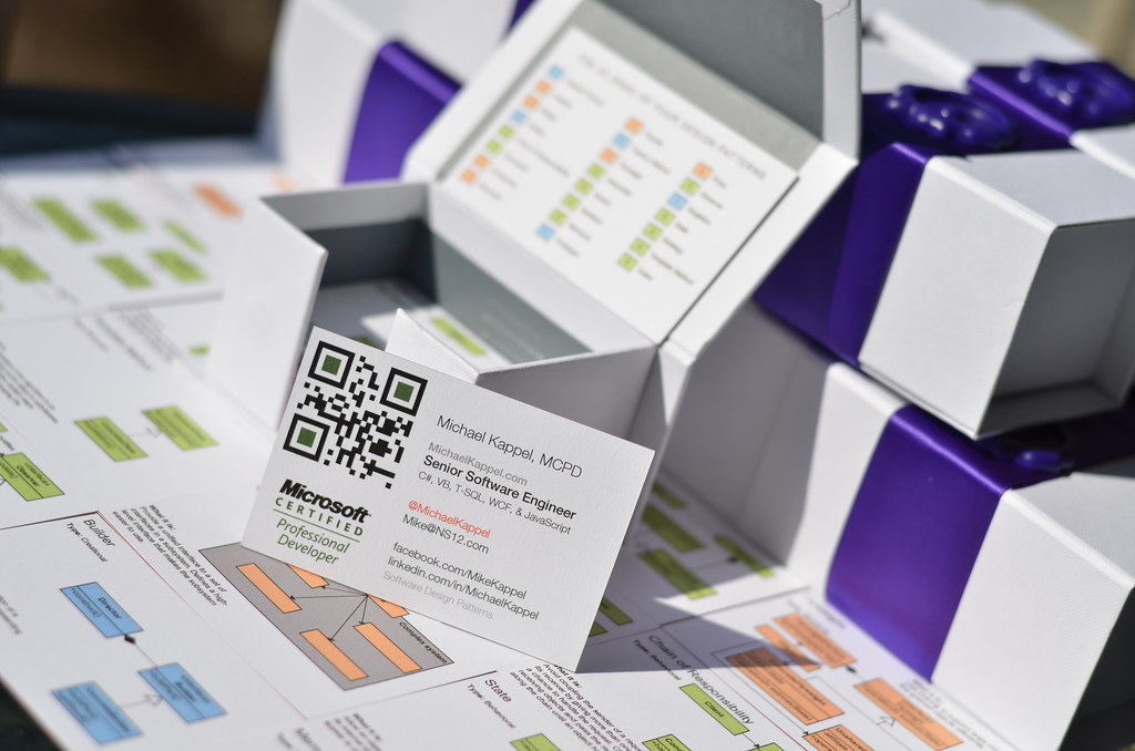 Microsoft Certified Professional Business Cards Microsoft Flickr
