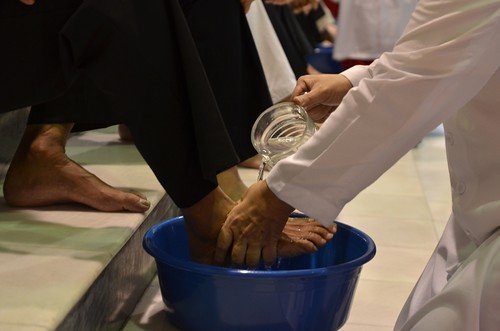 Washing of foot | by Johnragai-Moment Catcher