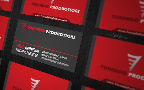 Tornado Productions Callcard Presentation | by Sparq Studio