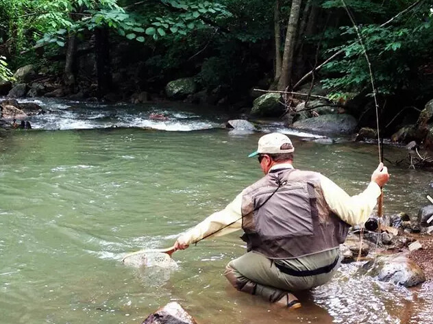 Get hooked with a free fishing weekend in virginia 39 s blue for Carvins cove fishing