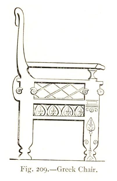 ... Greek Chair Was Related To Ancient India And Egypt In Style And With  Less Animalistic Figures