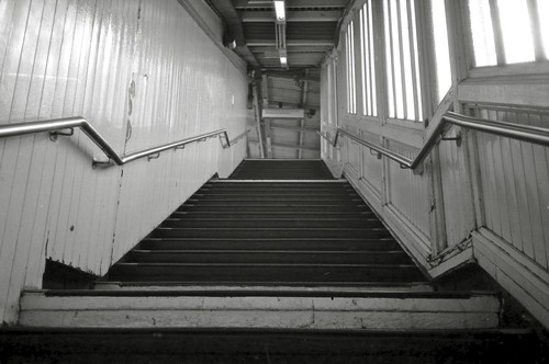 Stairs, Goldhawk Road | by redspotted