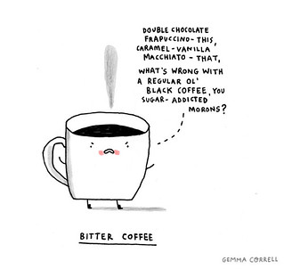 bitter coffee | by gemma correll