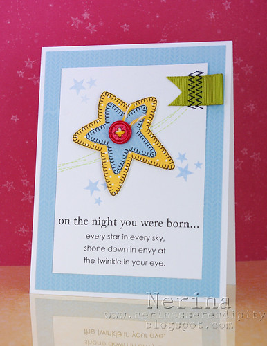 Star Baby | by Nerina's Cards