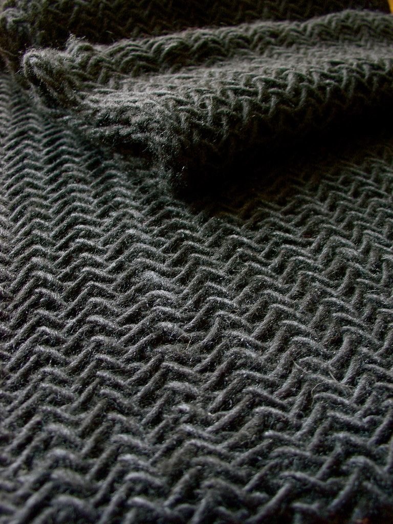 Big Herringbone Cowl | Pattern from The Purl Bee, knit in di… | Flickr