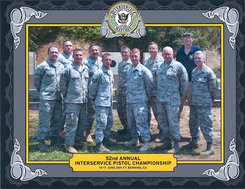 2011 USAF InterService Pistol Team | by USAF Shooting Team
