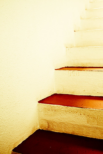 These Stairs are Orange | by Rochelle Ramos
