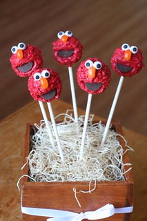 Elmo Cake Pops | by Sweet Lauren Cakes