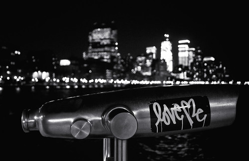 Love Me - Night Evocations - Hudson River Park - New York City | by Vivienne Gucwa