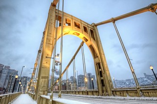Light on the Clemente Bridge HDR | by Dave DiCello