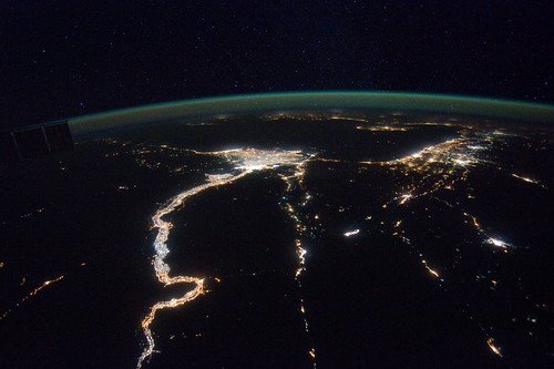 A Night View Around the Mediterranean Sea (NASA, International Space Station, 02/25/12) | by NASA's Marshall Space Flight Center