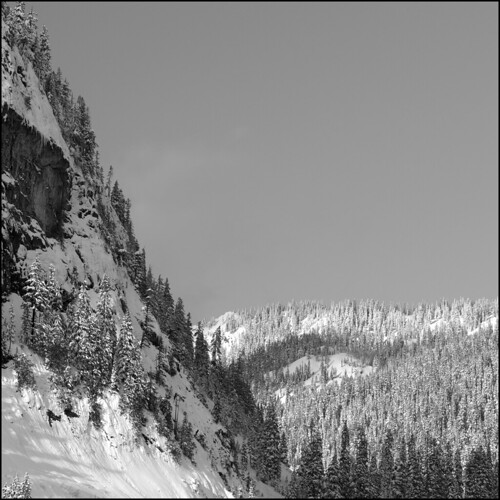 Snoqualmie Pass BW | by PsychaSec