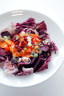 Radicchio, Blood Orange and Beetroot | by Salad Pride