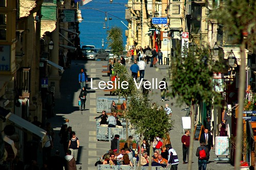 Merchants Street, Valletta, Malta on a glorious spring afternoon in March. | by leslievella64