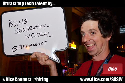 Attract top tech talent by being geography - neutral | Flickr