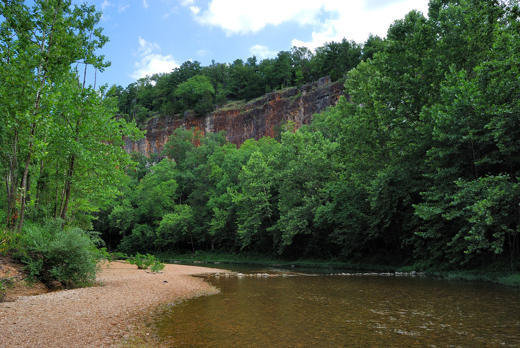 Red bluff campground the red bluff the campsite is named a flickr red bluff campground by ozarks walkabout sciox Images
