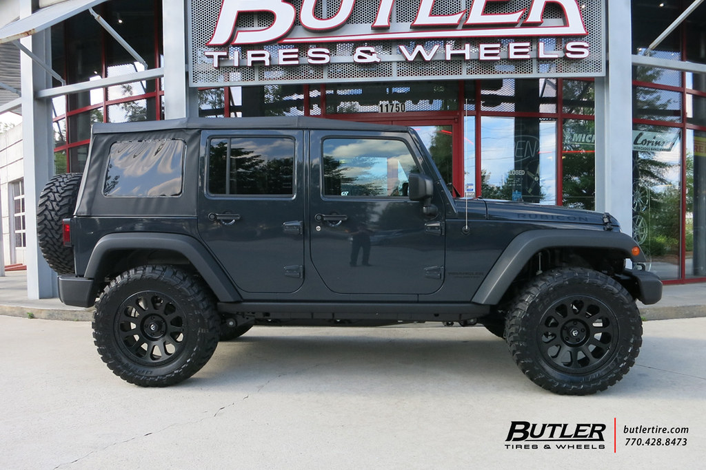Great ... Jeep Wrangler With 20in Fuel Vector Wheels And Toyo MT Tires | By  Butler Tires And