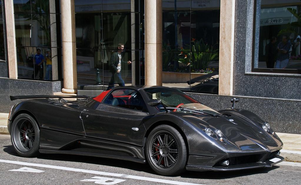 Pagani Zonda F Roadster | Carbon & Red | Romain Drapri | Flickr