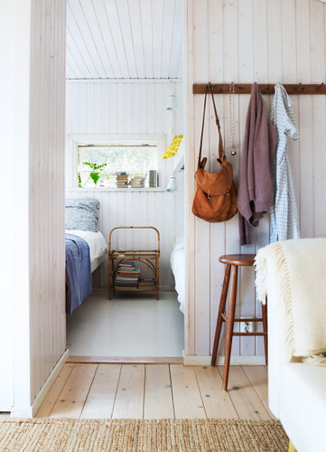 Magnus Anesund {white rustic scandinavian modern country house bedroom / hallway / entry way} | by recent settlers