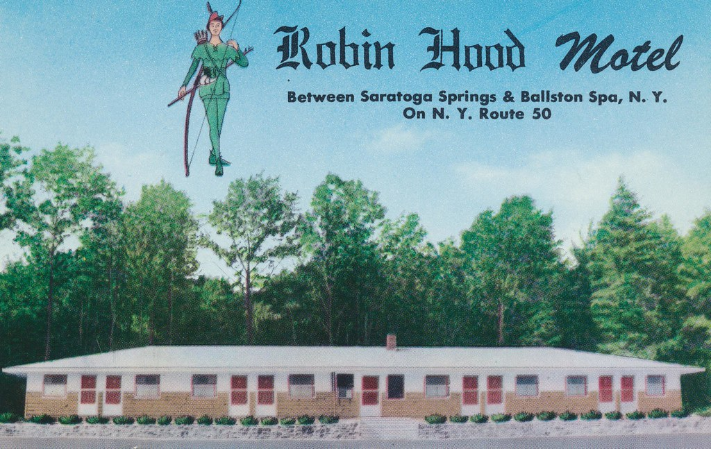 Robin Hood Motel - Ballston Spa, New York