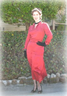 The Anti-Valentine's Day Red Dress, Part 2 | by vintage laura