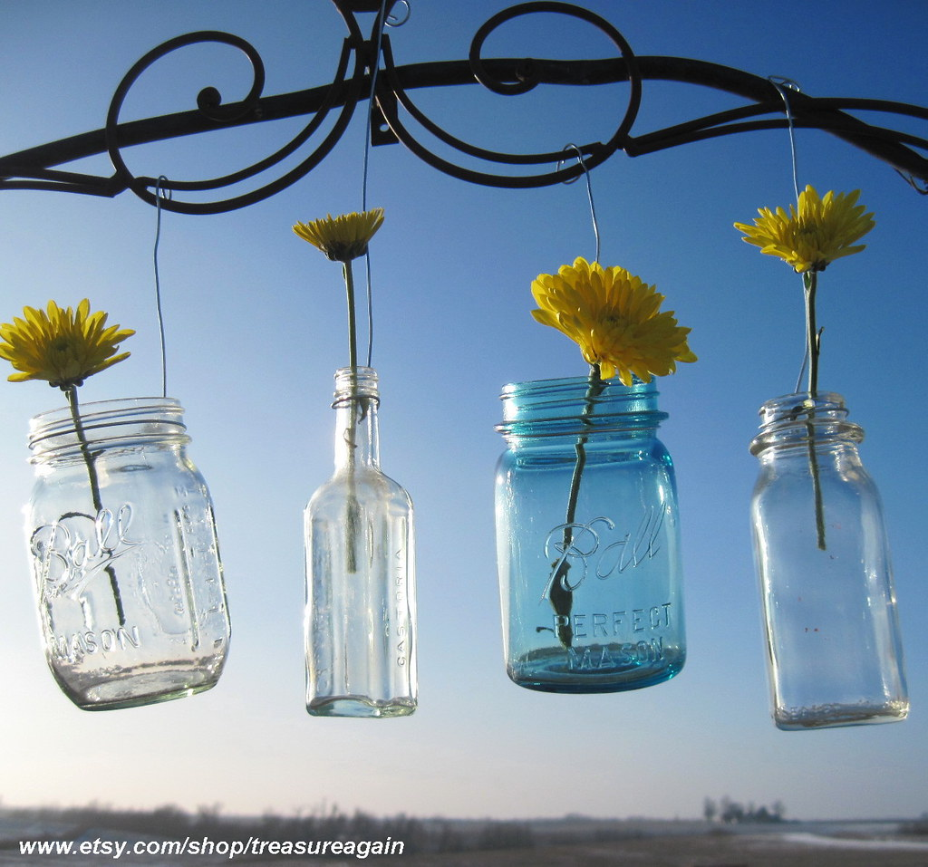 Mason Jar Hangers, Multi Size Jar Hangers for Mason Jars, … | Flickr