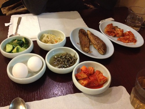 Banchan at Tofu House | by noelleonflickr