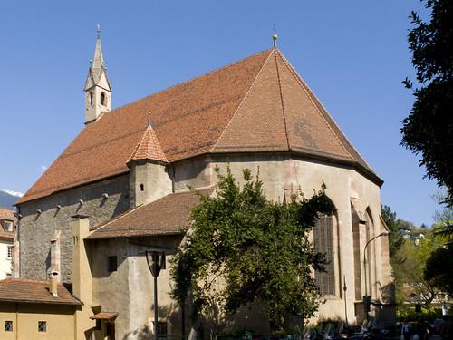 Chiesa di santo spirito heiliggeistkirche ii for Azienda soggiorno merano